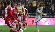 Gergin Maçta Kayserispor ve Sivasspor Yenişemedi