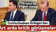Erdoğan Ukrayna ile Yoğun Görüşmelere Başladı