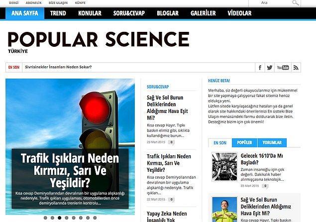 7. Popular Science Türkiye