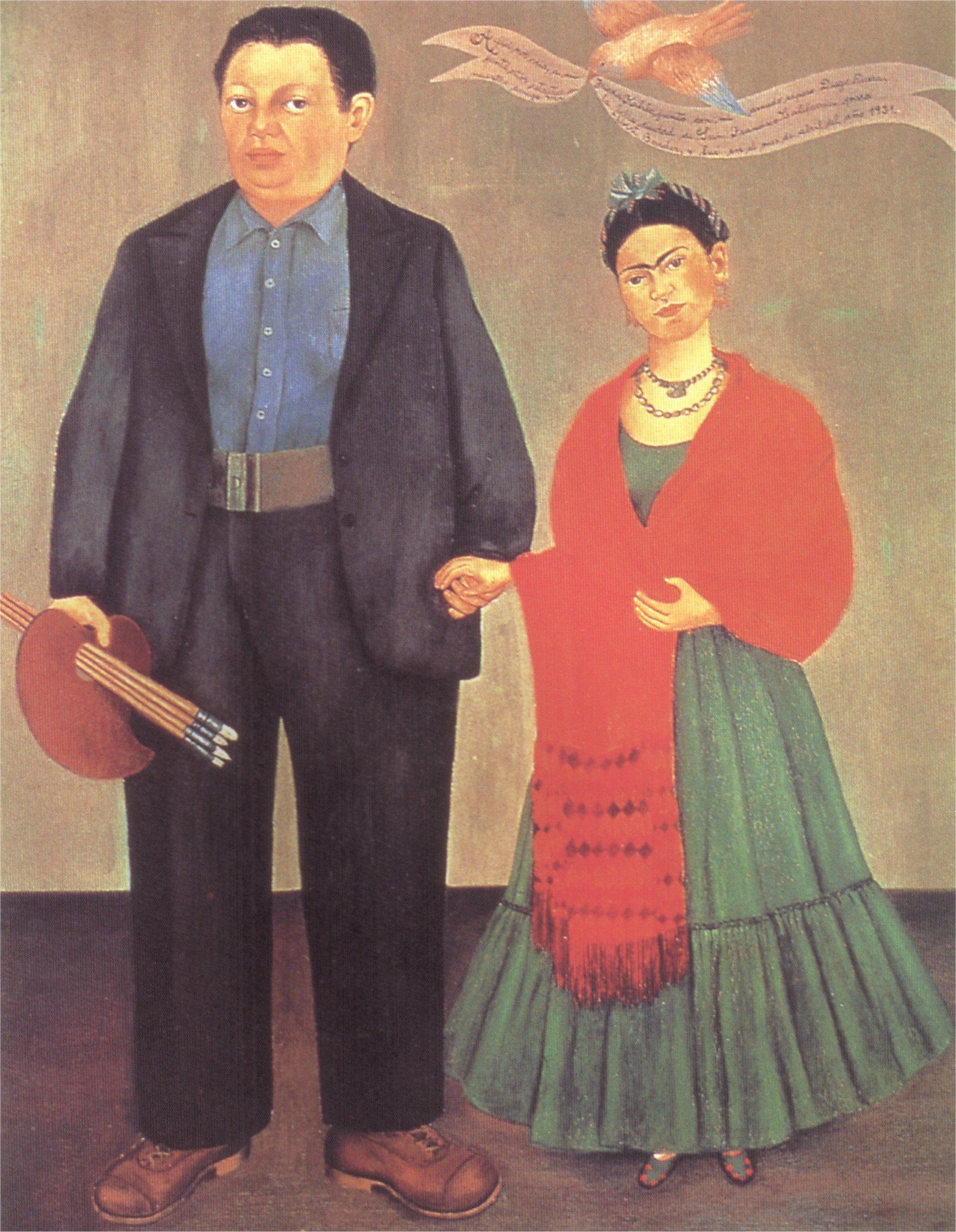 Frida Kahlo diego ile ilgili görsel sonucu