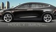 Tesla'nın Yeni Modeli Suv  'Model X' Test Sürüşünde Yakalandı