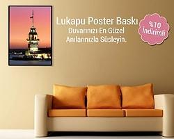 Türkiye'nin en büyük fotokitap markası Lukapu'nun Poster Özel Kampanyası'nda 27-30 Mart tarihleri arasında yüzde 10 indirim var!