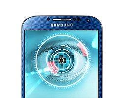 Apple'ın Parmak İzi Okuyucusuna  Samsung'dan Göz Taramalı Cevap