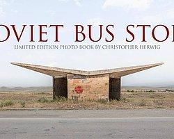 Christopher Herwig'in Objektifinden Sovyet Otobüs Durakları
