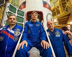 Astronotlar Bir Yıllığına Uzaya Gönderildi