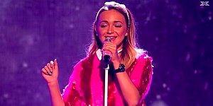 X-Factor Yarışmasının 17 Yaşındaki Yıldızından Muhteşem 'Happy' Coverı