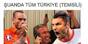 Hollanda - Türkiye Maçı Sosyal Medyanın Mizah Damarına Dokundu!