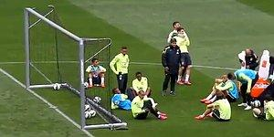Neymar'dan Fizik Kurallarını Alt Üst Eden Hareket