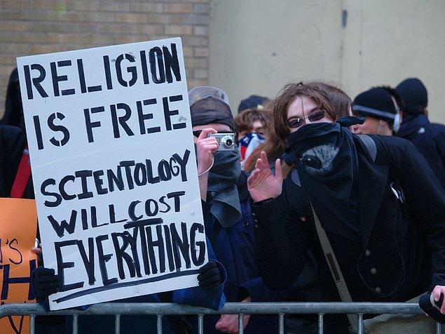 16. Scientology'ye yönelik protestolar