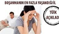 TÜİK: Boşanmaların En Çok Yaşandığı İl Antalya