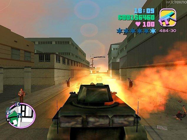 2. Tank İle Yıkıp Geçmek