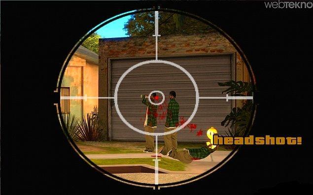 12. Headshot !