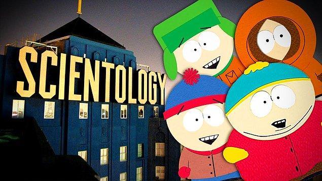 19. Yukarıdaki 'Xenu' görselinden sonra South Park çalışanlarının başına gelen de çok farklı sayılmaz