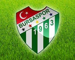 Bursaspor Kınama Mesajı