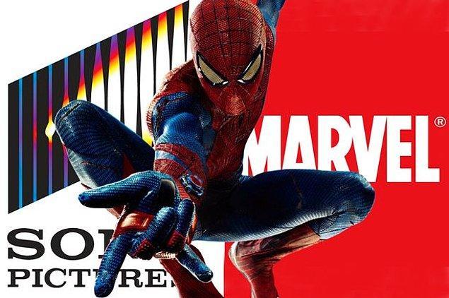 2- Sony ve Marvel'ın yaratıcı ekibi yeni Spider-man filmlerinde birlikte çalışacak