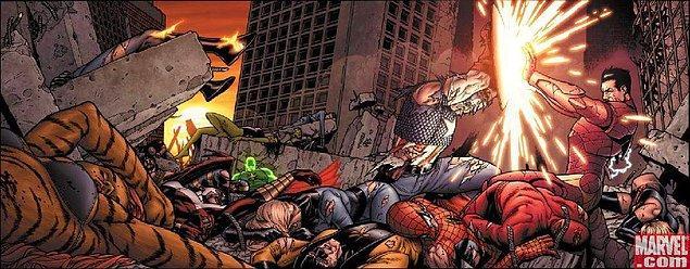 4 - Seneye Spidey İç Savaşta mı?
