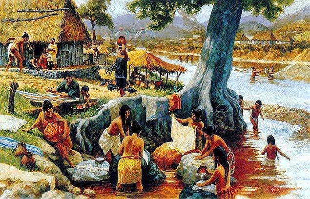 """1. Aztek ismi Avrupalılar tarafından uydurulmuştur, onlar esasen kendilerini """"Meksikalı"""" diye adlandırıyorlardı."""