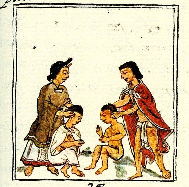 11. Çocuklar için eğitimi zorunlu hale getiren ilk uygarlık Azteklerdir.