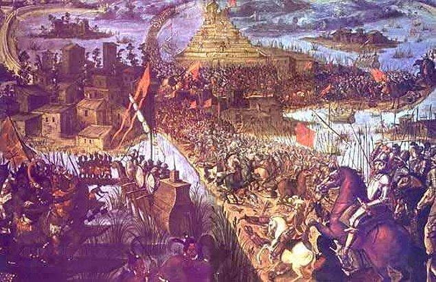 20. Tenochtitlan'ı almak için yapılan savaşta 250 bin kişinin öldüğü düşünülüyor.