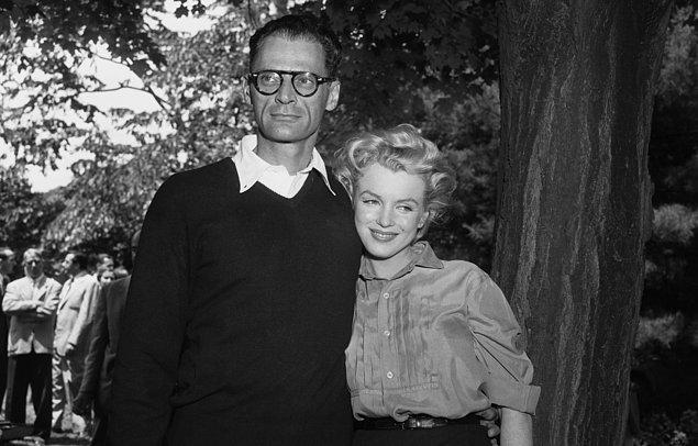 10. Üçüncü Evliliğini Arthur Miller İle 1956 Yılında Yaptı.