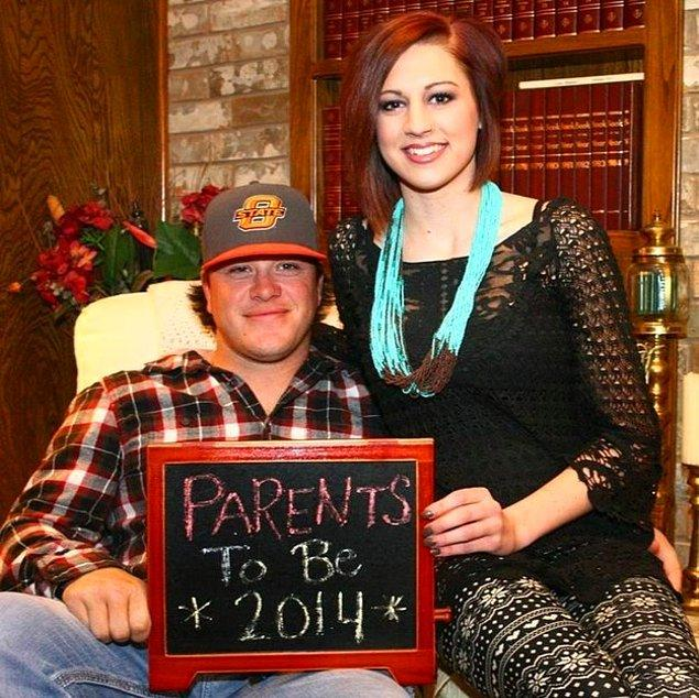 Smith çifti 2014 yılı sonlarında çocuk sahibi olacaklarını öğrendiklerinde çok mutlu olmuşlardı.