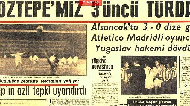 2. Türkiye'de Avrupa kupalarında ilk yarı finale ulaşmış takımın Göztepe olduğunu bilmek