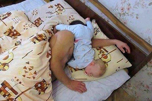 İstediği her yerde istediği her saatte uyuyabilen prenses.