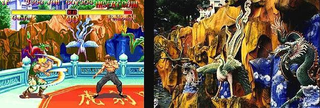 1. Super Street Fighter 2 ve Hong Kong'taki Tiger Balm Garden