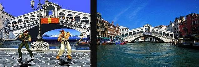 5. Capcom vs SNK 2 ve Venedik'teki Rialto Köprüsü