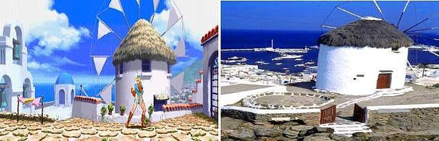 11. Street Fighter Alpha 3 ve Yunanistan'daki Mikonos