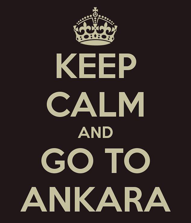 Sen Ankara'da Yaşıyorsun!