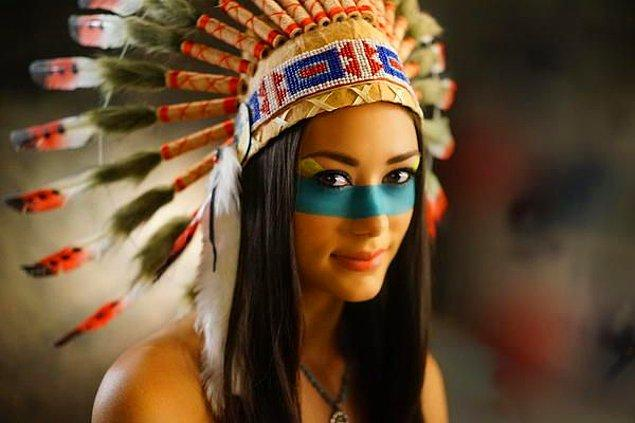 Kızılderililer: Sembolik Makyaj