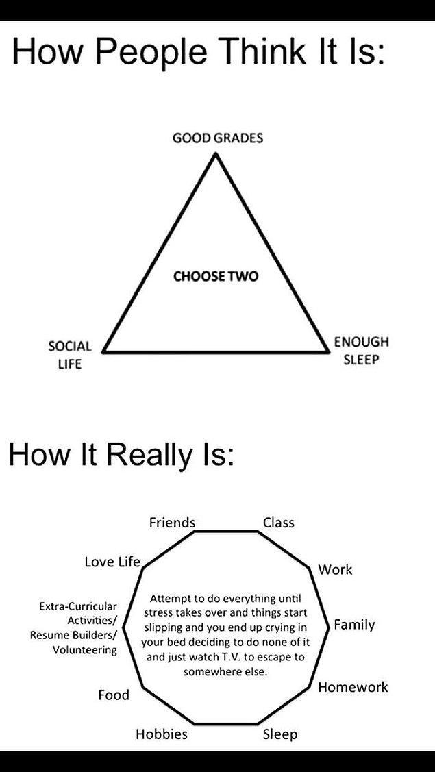 1. Hayat sizin için çok daha karmaşıktır.