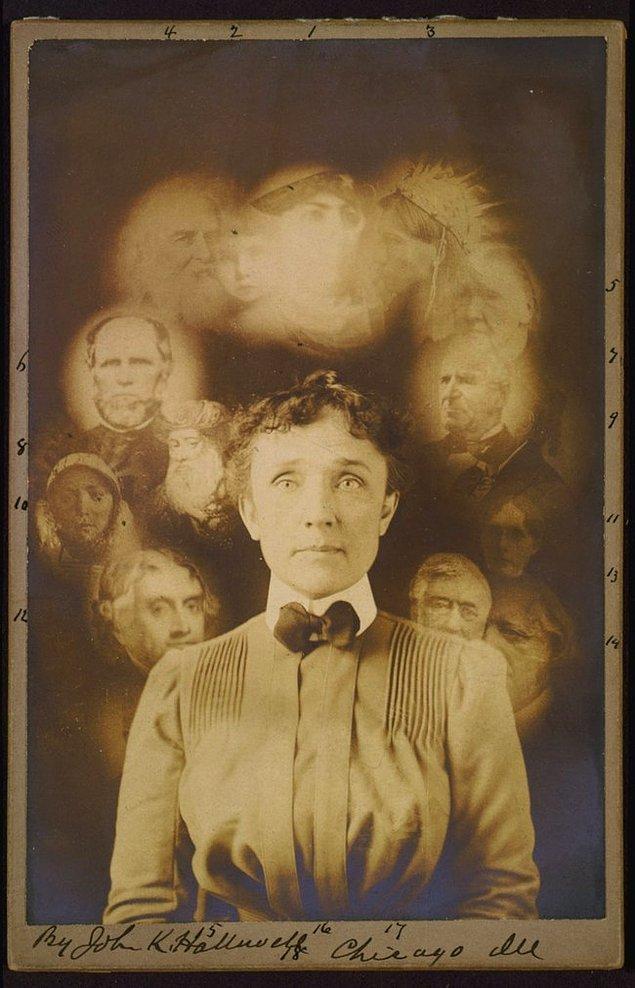 8. 'Ruh' Fotoğrafçılığı, John K. Hallowell, 1901.