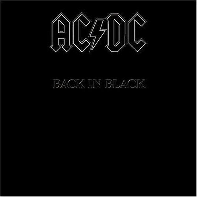 6. AC/DC - BACK IN BLACK // 22 MİLYON
