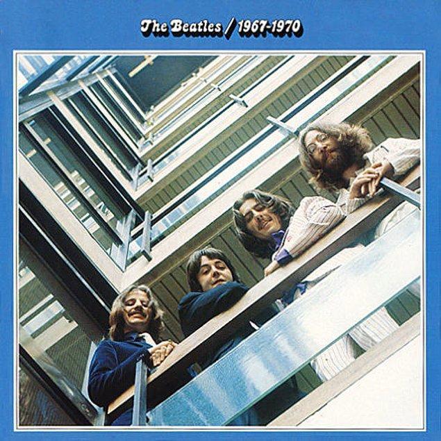 12. THE BEATLES - THE BEATLES 1967-1970 // 17 MİLYON