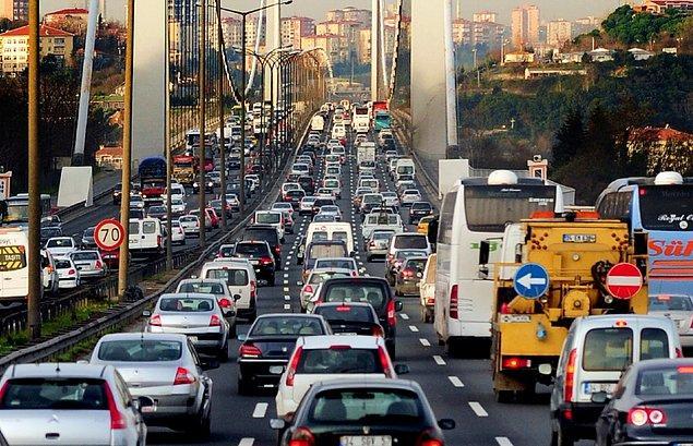 2. Hey gidi trafik, hey!