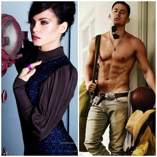 7- Jenna Dewan ve Channing Tatum