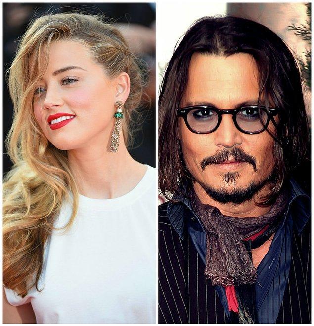 4- Amber Heard ve Jonny Deep