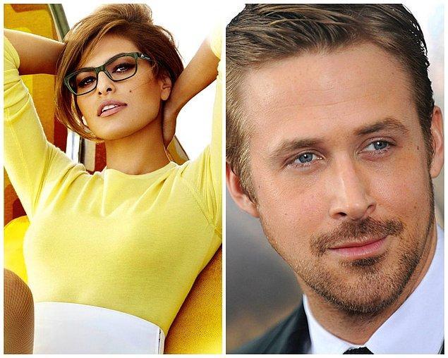 2- Eva Mendes ve Ryan Gosling