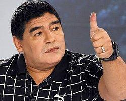 """Maradona: """"Van Gaal Bir Şeytan"""""""