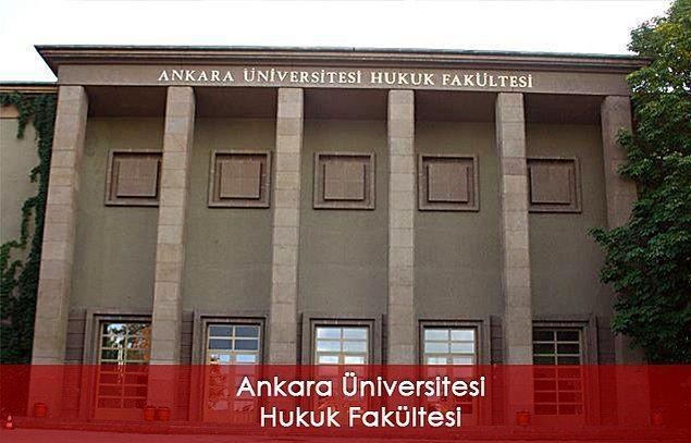En iyi akademik kadroya sahip devlet Hukuk Fakültesi