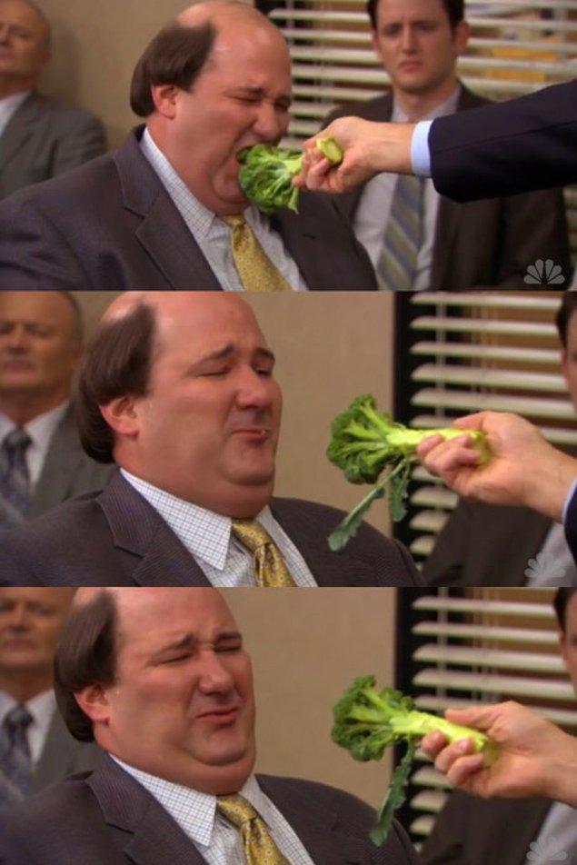 9. Çocuklarınız brokoli yesin istiyorsanız...