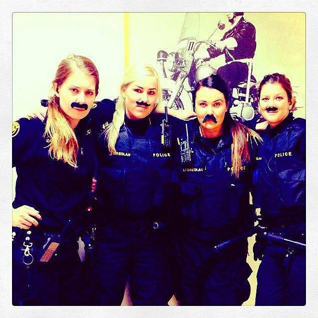 19. Reykjavik Polis Departmanı'nda 'Pozitif Ayrımcılık' erkekler için geçerli bir kavram.
