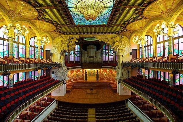 Palau de la Música Catalana, Barcelona, Spain