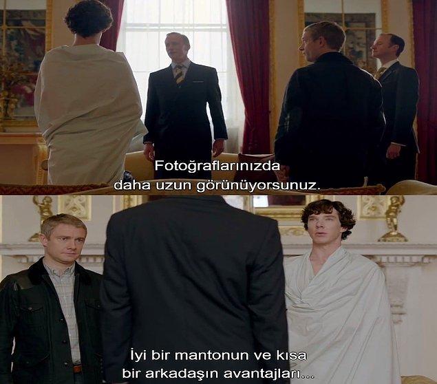 6. Sherlock bunu hep yapıyor.