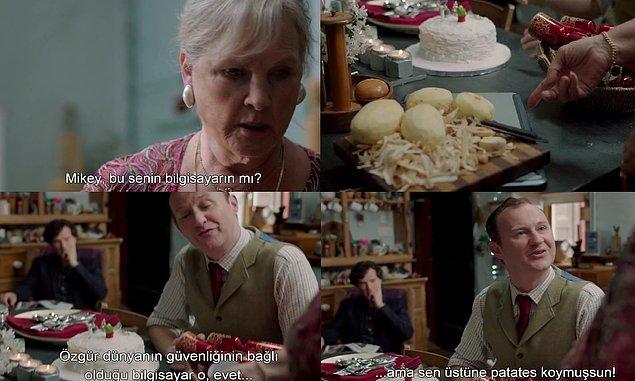 20. Holmes kardeşlerin annesi oldukça tanıdık geldi, değil mi?