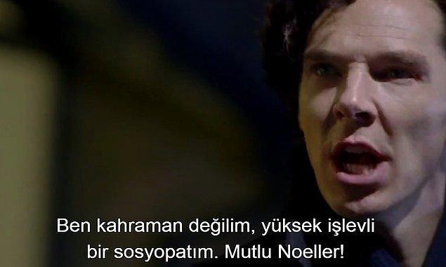 22. Yüksek İşlevli Sosyopat: Sherlock
