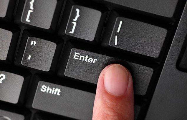 2. Dosyayı açmak için ''enter'' tuşuna 1 kere basman yeterli aslında. Emektar klavyeni boş yere hırpalama