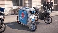 Pizzalar Sürücüsüz Araçlarla Teslim Edilecek